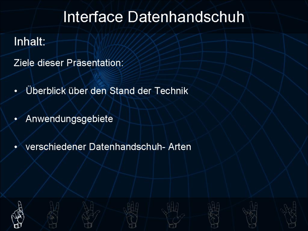interface datenhandschuh folie 1