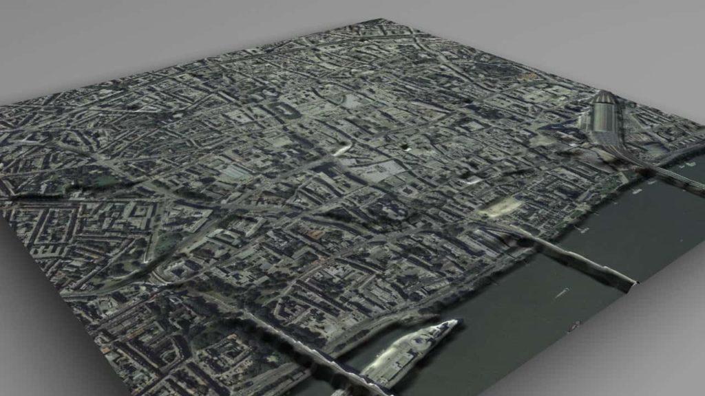 colonia 3d koln mit satellitenbild