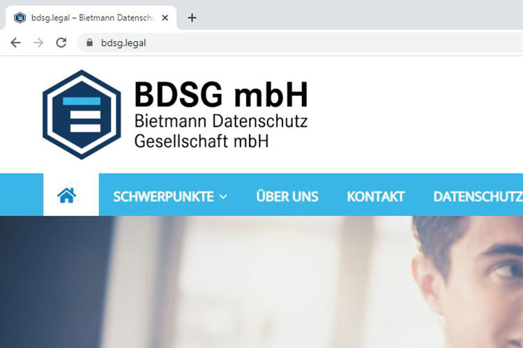 Logo BDSG Bietmann Datenschutz Gesellschaft mbH online