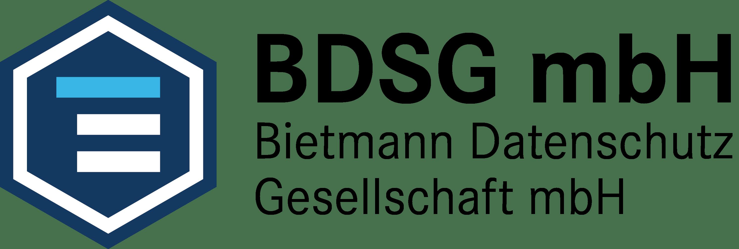 Logo BDSG Bietmann Datenschutz Gesellschaft mbH