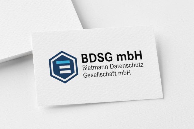 Mokeup Logo BDSG Bietmann Datenschutz Gesellschaft mbH