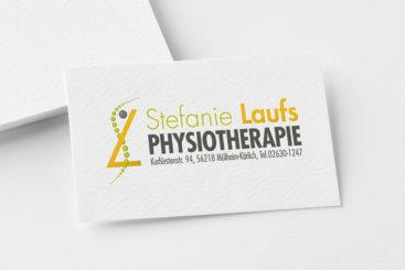 Mokeup Logo Stefanie Laufs Physiotherapie