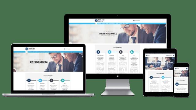 bdsg.legal webseite responsive