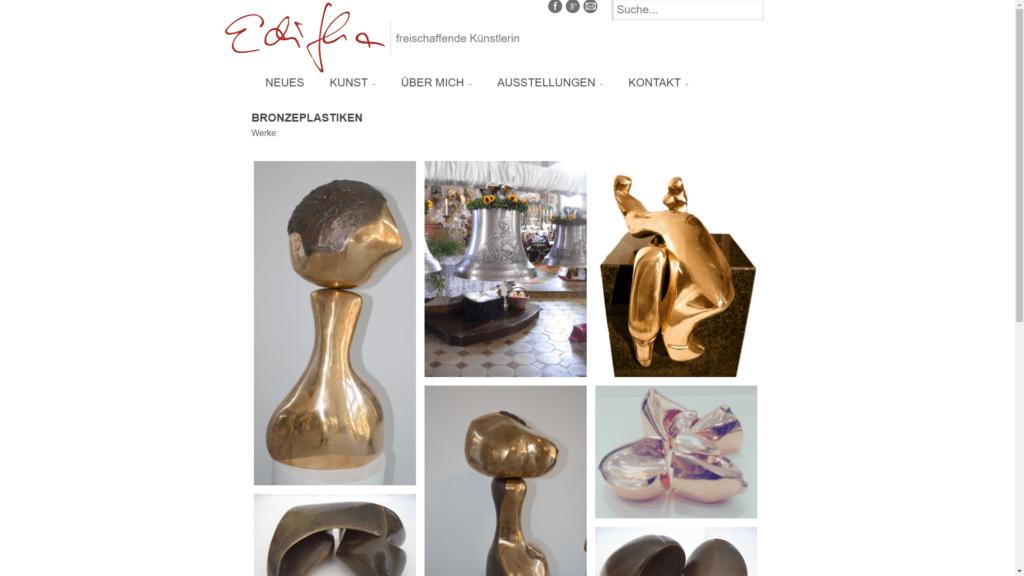 editha proebstle.de kunst bronzeplastiken FullHD