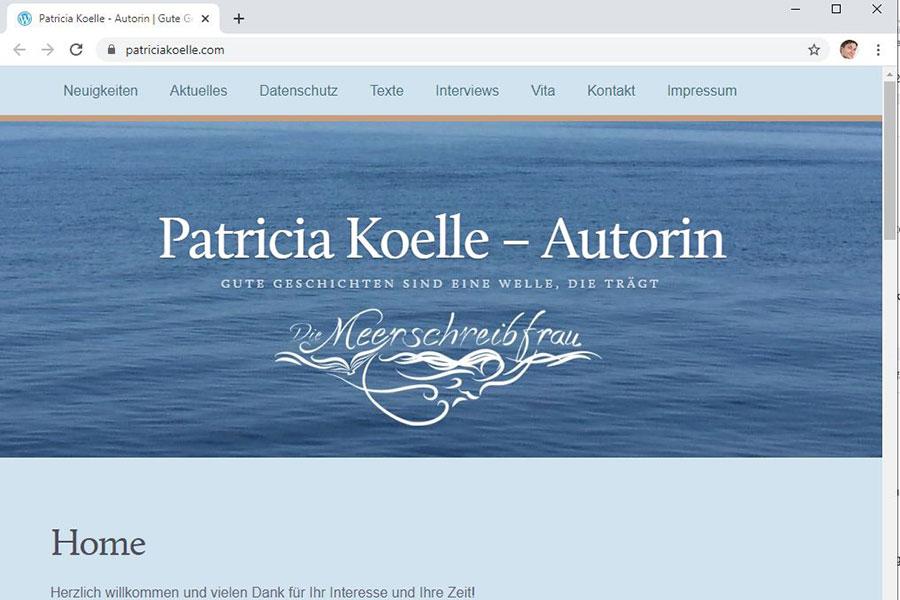 patriciakoelle.com webseite