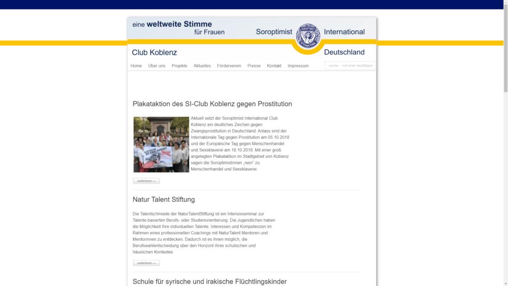 si club koblenz.de category projekte FullHD