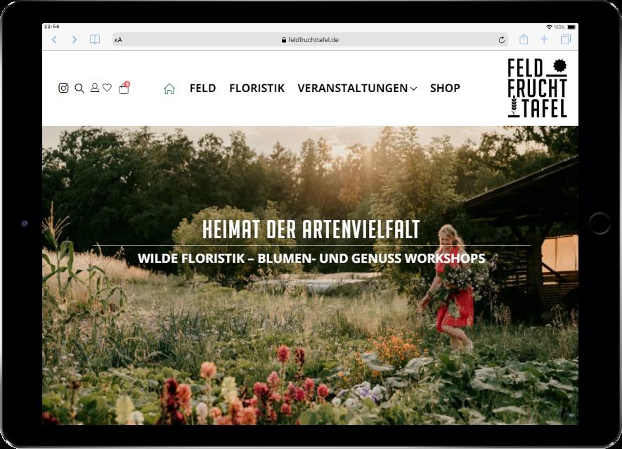 Feldfruchttafel Heimat der Artenvielfalt