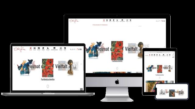 editha proebstle webseite responsive